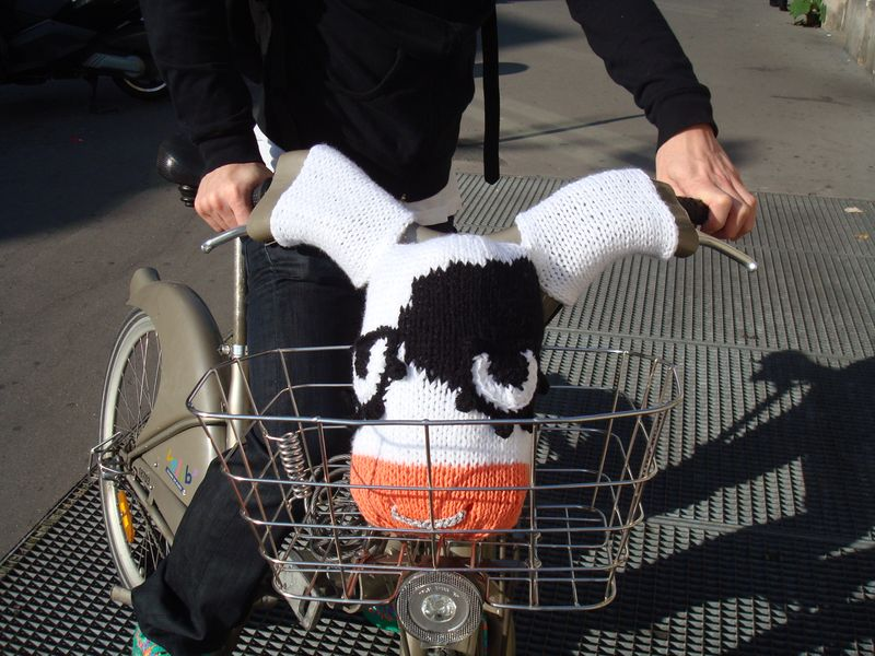 Vache à vélib (2)
