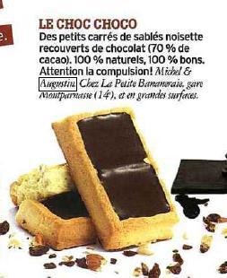 Article Marie Claire petits carrés
