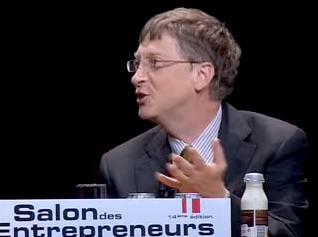 Bill Gates et la vache