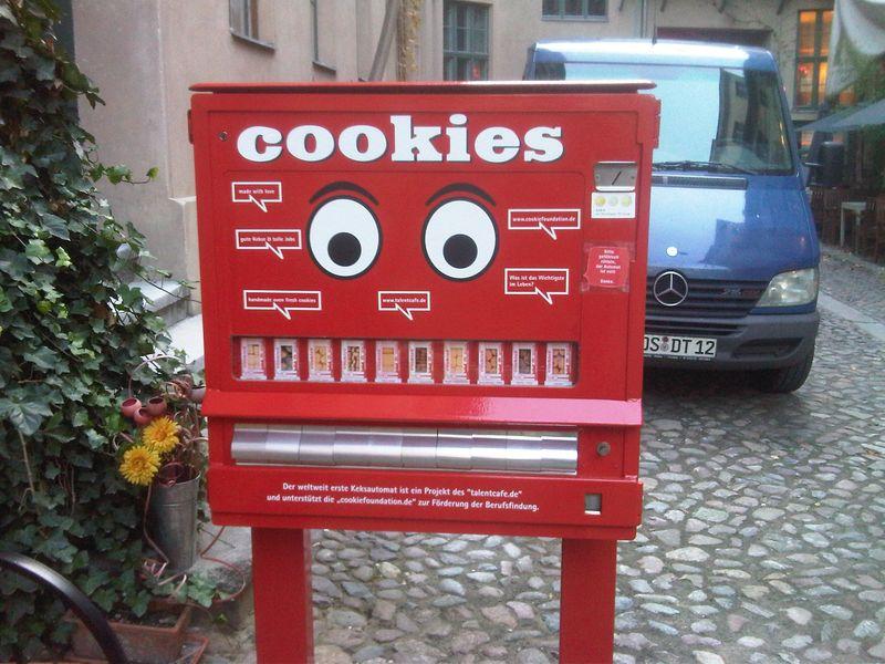 Ditributeur de gâteaux à Berlin