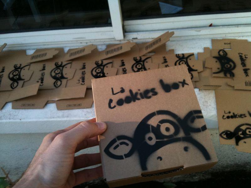 Cookies box 009